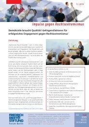 Demokratie braucht Qualität! - Bibliothek der Friedrich-Ebert-Stiftung