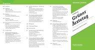 Grüner Ärztetag Einladung - Marburger Bund