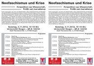 Donwload des Tagungsprogramms - VVN/BdA NRW