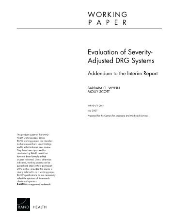 apr drgs a severity adjustment methodology (with corrections) new york state department of health background legislation a new inpatient psychiatric reimbursement methodology was passed in the 2009-10.