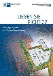 Planungsratgeber zur Standortbeurteilung - IHK Nürnberg für ...