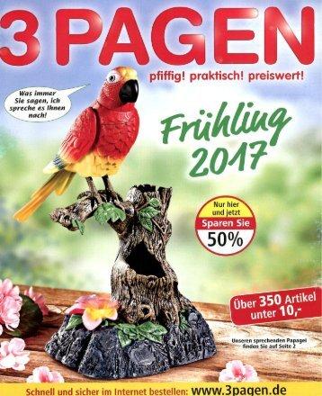 Каталог 3Pagen весна 2017. Заказ товаров на www.catalogi.ru или по тел. +74955404949