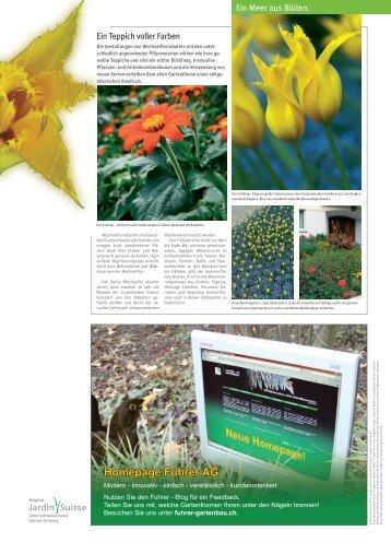 Homepage Fuhrer AG - Fuhrer AG Gartenbau