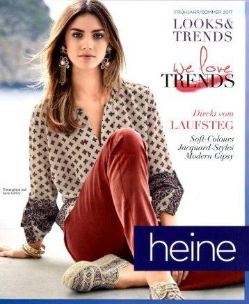 Каталог Heine Looks&Trends весна-лето 2017. Заказ одежды на www.catalogi.ru или по тел. +74955404949