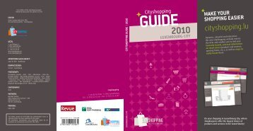 Guide 2010 - Cityshopping.lu