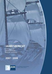 jahresbericht - AHK Baltikum