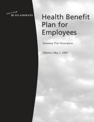 Health Benefit Plan for Employees