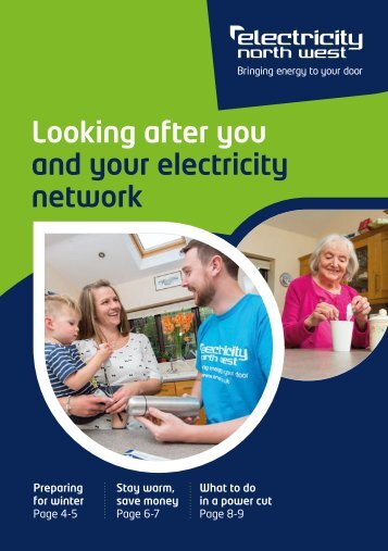 Looking after you and your electricity network