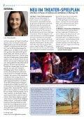CAROLINE. Das Theatermagazin März/April 2017 - Page 2