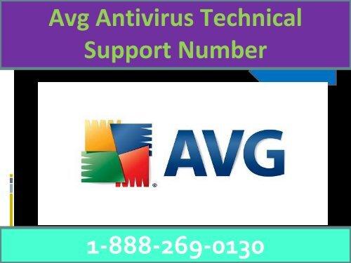 Avg antivirus Customer Care 1-888-269-0130 Helpline Number
