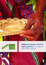 Making tourism a tool to fight poverty ten years of the ST-EP Initiative