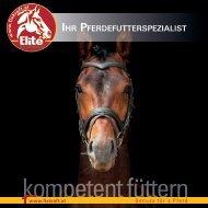 Fixkraft Elité - Ihr Pferdefutterspezialist