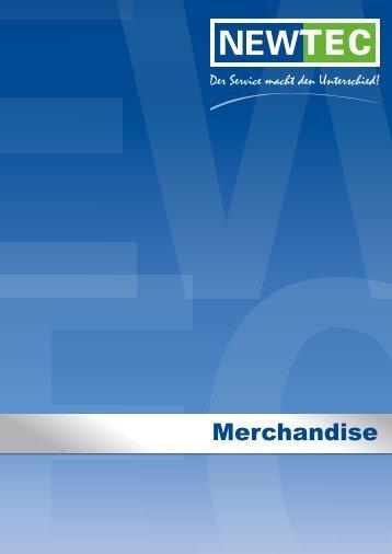 PFA Merchandise Katalog