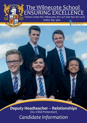 Deputy Head Prospectus - The Wilnecote School 1