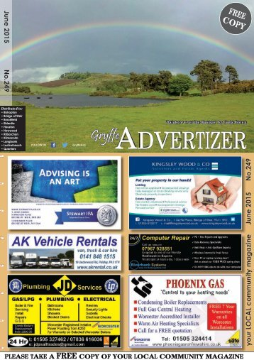 249 June 2015 - Gryffe Advertizer