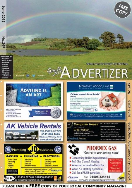 249 June 2015 - Gryffe Advertizer