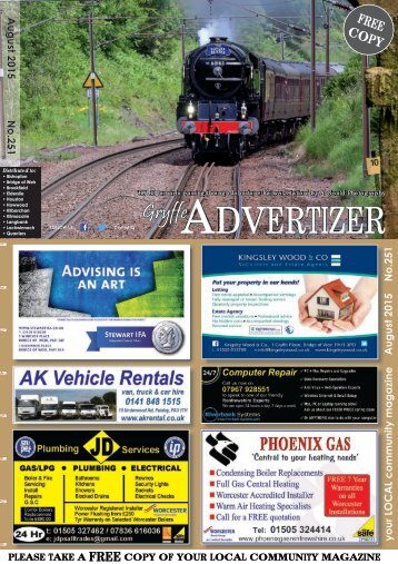 251 August 2015 - Gryffe Advertizer