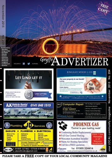 254 November 2015 - Gryffe Advertizer