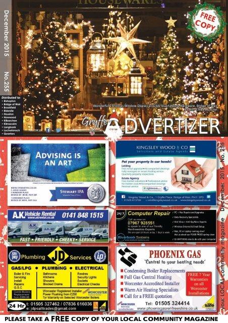 255 December 2015 - Gryffe Advertizer