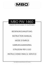 MBO PW 1460 - JET GmbH