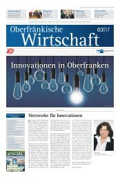 Oberfränkische Wirtschaft Ausgabe 03.2017