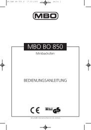 BA MBO BO 850 D - JET GmbH