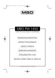 MBO PW 1450 - JET GmbH
