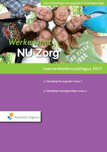 Inleiding NU Zorg - Noordhoff Uitgevers