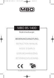 BA MBO BS 1400 D - JET GmbH