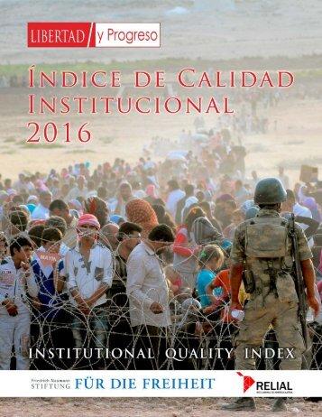 Calidad Institucional 2016