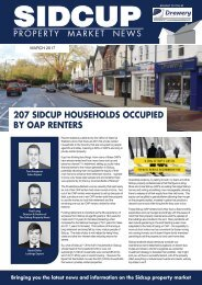 SIDCUP PROPERTY NEWS - MARCH 2017