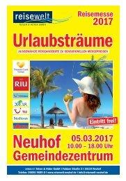 Messezeitung Urlaubsträume 2017