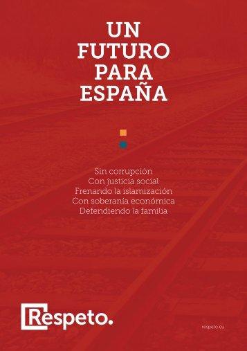 UN FUTURO PARA ESPAÑA