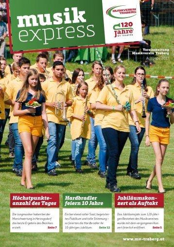 Musikexpress Musikverein Traberg 2017