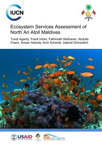 Ecosystem Services Assessment of North Ari Atoll Maldives