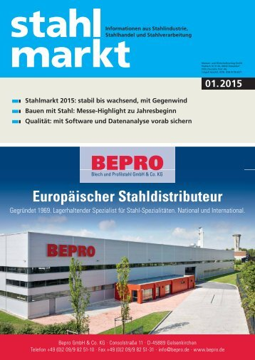 stahlmarkt 1.2015 (Januar)