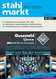 stahlmarkt 3.2015 (März)