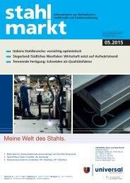stahlmarkt 5.2015 (Mai)