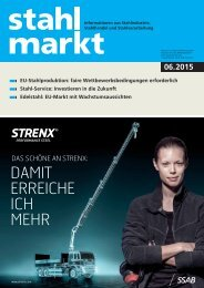 stahlmarkt 6.2015 (Juni)