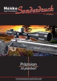 Praezision ist planbar - Henke Sonderdruck 3. Auflage