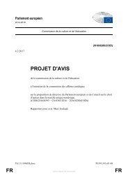 PROJET D'AVIS FR FR