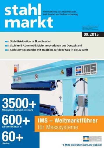 stahlmarkt 9.2015 (September)