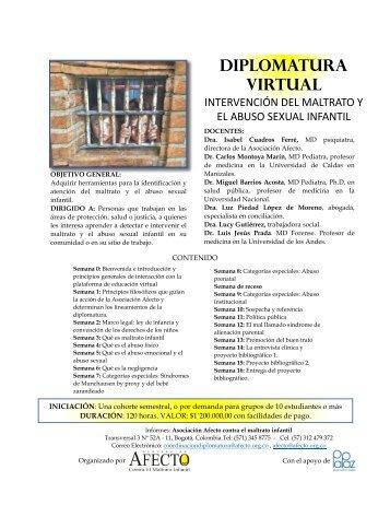 Diplomatura virtual