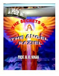 Secrets of Angel Raziel