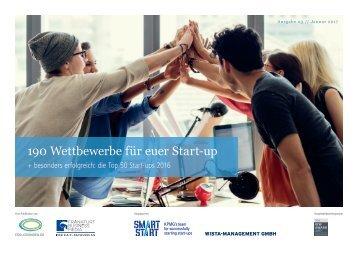 190 Wettbewerbe für euer Start-up
