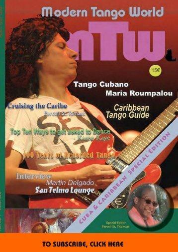 Modern Tango World #7 (Havana & the Caribbean)