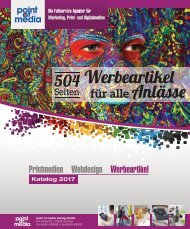 Werbeartikel-Katalog 2017 - point of media Verlag