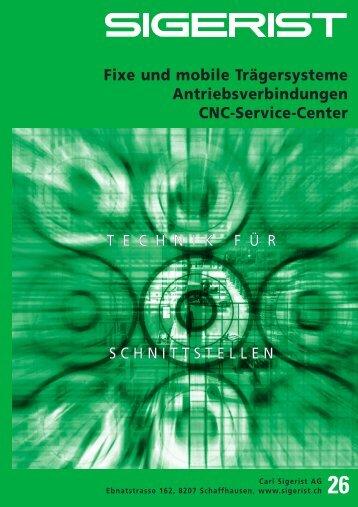 Lenkrollen mit Platte - Carl Sigerist AG