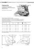 Lenkrollen mit Platte - Carl Sigerist AG - Seite 7