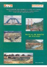 norma de diseño de puentes